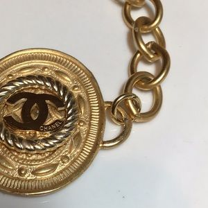 CHANEL Jewelry - Stunning Gold Authentic Chanel Button bracelet.